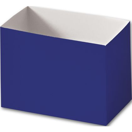 Navy Blue Gift Basket Boxes, 6 3/4 x 4 x 5""