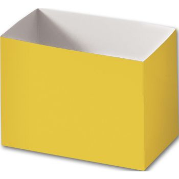 Yellow Gift Basket Boxes, 6 3/4 x 4 x 5