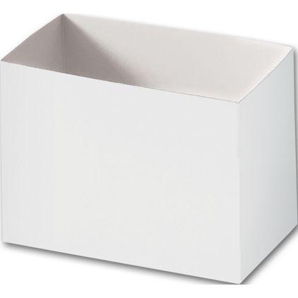 "White Gift Basket Boxes, 6 3/4 x 4 x 5"""