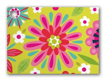 Bountiful Blooms Gift Tags, 3 3/4 x 2 3/4