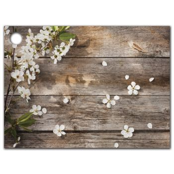 Rustic Blossoms Gift Tags, 3 3/4 x 2 3/4