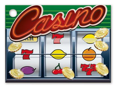 """Casino Gift Tags, 3 3/4 x 2 3/4"""""""