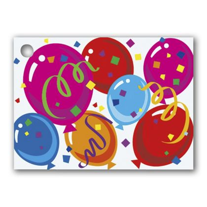 """Celebrate Gift Tags, 3 3/4 x 2 3/4"""""""