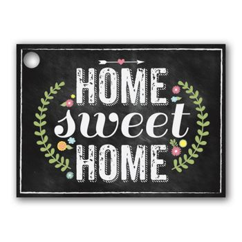 Chalkboard Home Gift Tags, 3 3/4 x 2 3/4