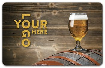 Barrel Gift Card, 3 3/8 x 2 1/8