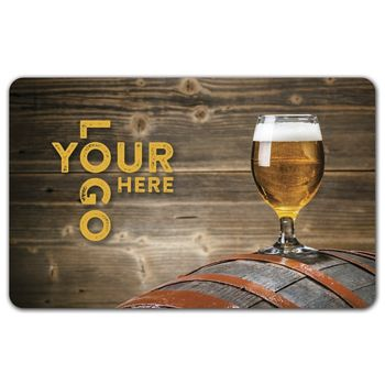Barrel Gift Card, 3 3/8 x 2 1/8""