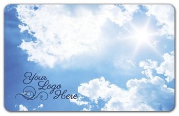 Clouds Gift Card, 3 3/8 x 2 1/8