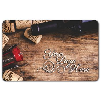 Corks Gift Card, 3 3/8 x 2 1/8