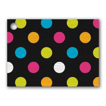 Dazzling Dots Gift Tags, 3 3/4 x 2 3/4