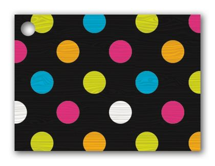 """Dazzling Dots Gift Tags, 3 3/4 x 2 3/4"""""""