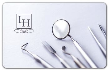 Dentist Gift Card, 3 3/8 x 2 1/8