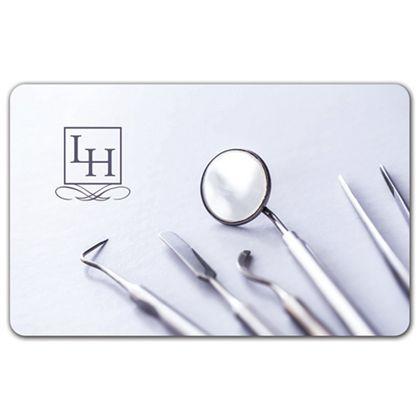 "Dentist Gift Card, 3 3/8 x 2 1/8"""