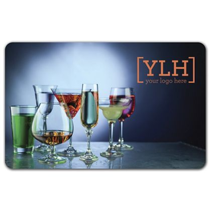 Drinks Gift Card, 3 3/8 x 2 1/8""
