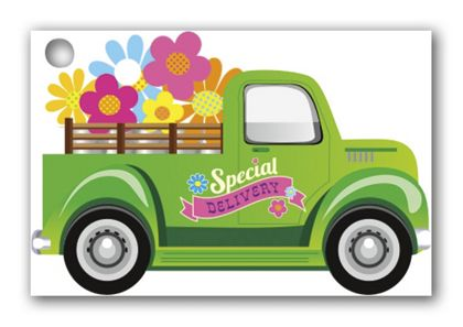Special Delivery Gift Cards, 3 3/4 x 2 1/2""
