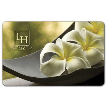 Flower Gift Card, 3 3/8 x 2 1/8