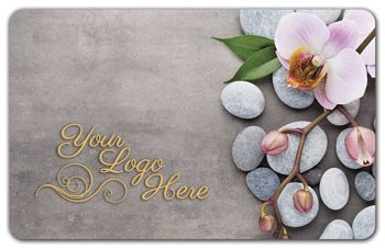 Rocks and Flower Gift Card, 3 3/8 x 2 1/8