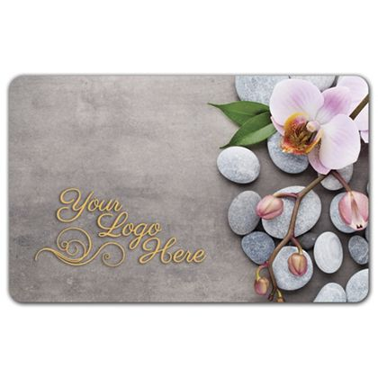 Rocks and Flower Gift Card, 3 3/8 x 2 1/8""