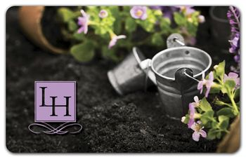Garden Gift Card, 3 3/8 x 2 1/8