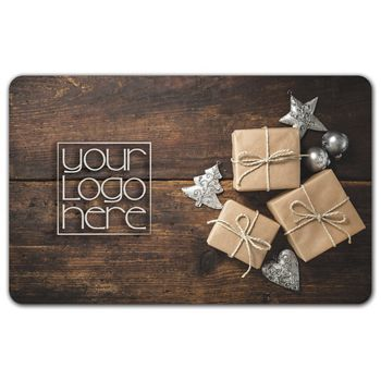 Holiday Gifts Gift Card, 3 3/8 x 2 1/8