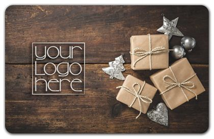 """Holiday Gifts Gift Card, 3 3/8 x 2 1/8"""""""