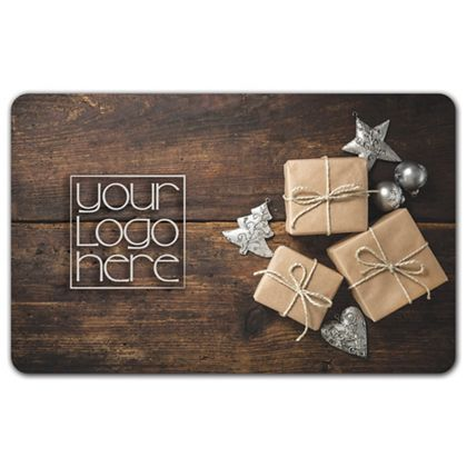 Holiday Gifts Gift Card, 3 3/8 x 2 1/8""