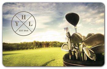 Golf Gift Card, 3 3/8 x 2 1/8