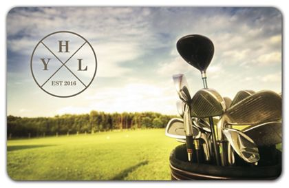 "Golf Gift Card, 3 3/8 x 2 1/8"""