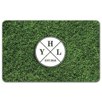 Grass Gift Card, 3 3/8 x 2 1/8