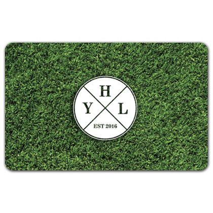 """Grass Gift Card, 3 3/8 x 2 1/8"""""""