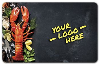 Lobster Gift Card, 3 3/8 x 2 1/8