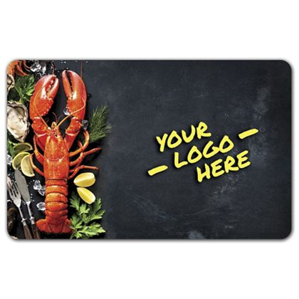 Lobster Gift Card, 3 3/8 x 2 1/8""