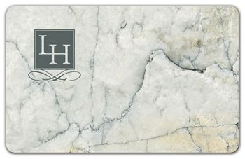 Marble Gift Card, 3 3/8 x 2 1/8