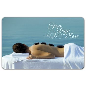 Massage Gift Card, 3 3/8 x 2 1/8