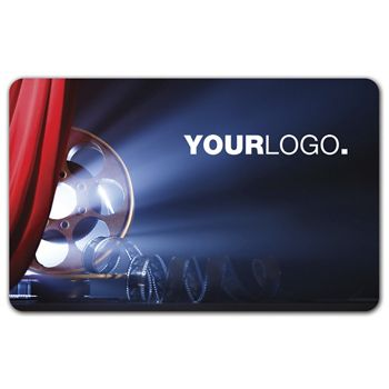 Movie Gift Card, 3 3/8 x 2 1/8