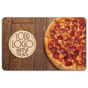 Pizza Gift Card, 3 3/8 x 2 1/8""