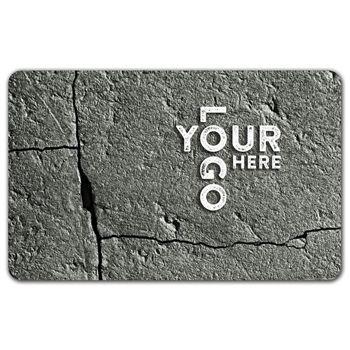 Rock Gift Card, 3 3/8 x 2 1/8