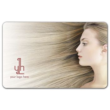 Salon Gift Card, 3 3/8 x 2 1/8