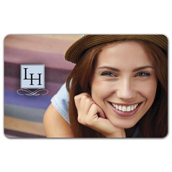 Smile Gift Card, 3 3/8 x 2 1/8