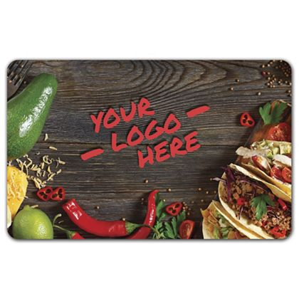 """Spicy Gift Card, 3 3/8 x 2 1/8"""""""