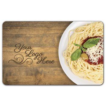 Spaghetti Gift Card, 3 3/8 x 2 1/8