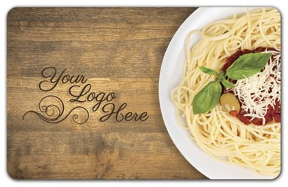 "Spaghetti Gift Card, 3 3/8 x 2 1/8"""
