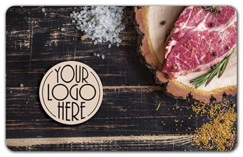 Steak Gift Card, 3 3/8 x 2 1/8