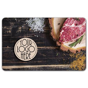 Steak Gift Card, 3 3/8 x 2 1/8""