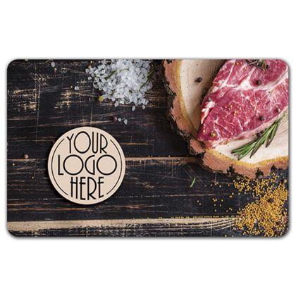"""Steak Gift Card, 3 3/8 x 2 1/8"""""""