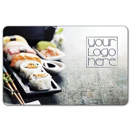 """Sushi Gift Card, 3 3/8 x 2 1/8"""""""