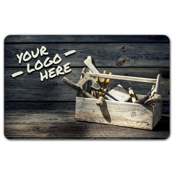 Tool Box Gift Card, 3 3/8 x 2 1/8