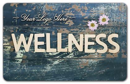 "Wellness Gift Card, 3 3/8 x 2 1/8"""