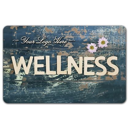 Wellness Gift Card, 3 3/8 x 2 1/8""