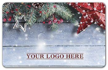 Winter Season Gift Card, 3 3/8 x 2 1/8
