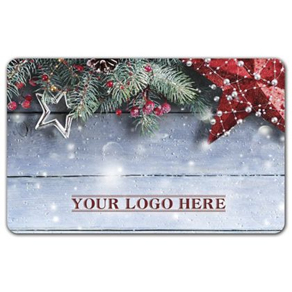 Winter Season Gift Card, 3 3/8 x 2 1/8""